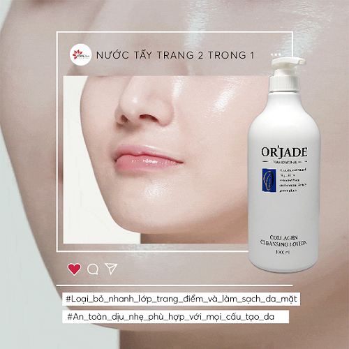 [DAL Spa] Tẩy trang 2 trong 1 -  Collagen Cleansing Lotion