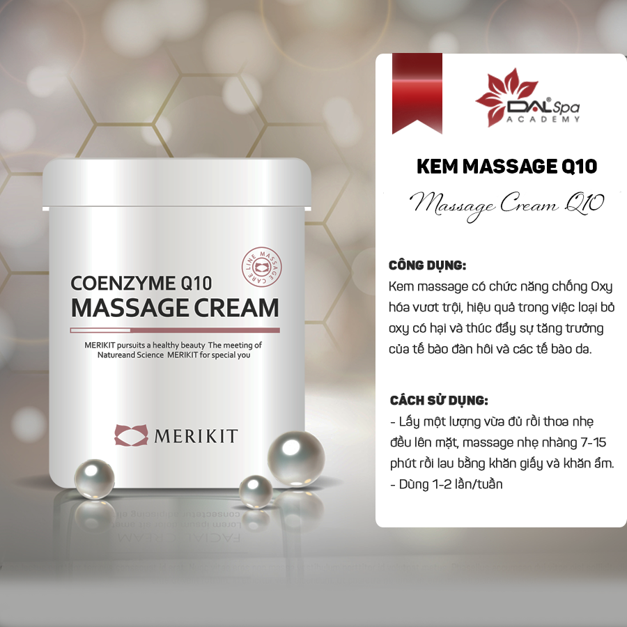 [DALSpa] Kem massage Q10 - Coenzyme Q10 Massage Cream